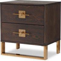 Liang and Eimil Ophir Bedside Table 2 Drawers