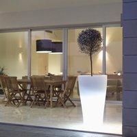 Skyline LED Cone Planter / Small