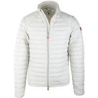 Deze save the duck taglia jas giubbotto ice met een pasvorm slim fit is gemaakt van polyester in de kleur wit ...