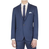 Limehaus Bright Blue Pindot Slim Fit Suit Jacket 40S Bright Blue