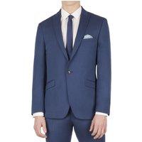 Limehaus Bright Blue Pindot Slim Fit Suit Jacket 40R Bright Blue