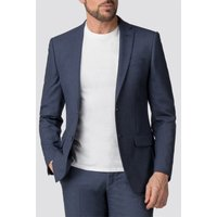 The Collection Airforce Blue Birdseye Tailored Fit Suit Jacket 44R AIRFORCE