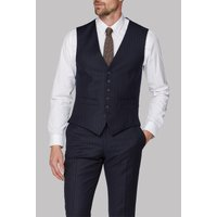 Click to view product details and reviews for Racing Green Navy Camel Stripe Tailored Fit Waistcoat 44r Navy.