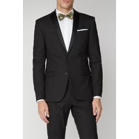 Limehaus Black Stretch Dinner Jacket 40R Black