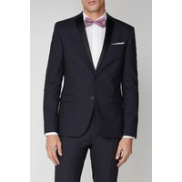 Limehaus Navy Stretch Mens Dinner Jacket 34R Navy