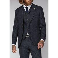 Gibson London Clerkenwell Mens Midnight Speckle Jacket 50R Midnight
