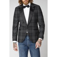 Gibson London Black Check Jacket 38R Black