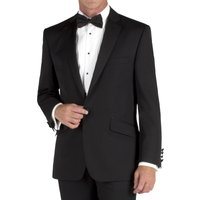 Racing Green Regular Fit Black Dinner Jacket 40XL Black