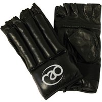 Image of Boxing Mad Fingerless Leather Bag Mitt - L