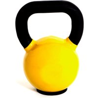 Image of Marcy Cast Iron Vinyl Dipped 28 kg Kettlebell