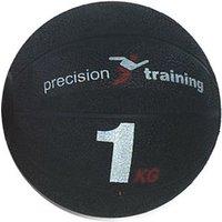 Image of Precision Training 1kg Rubber Medicine Ball