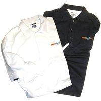Karakal - Sweatband Polo Shirt - Navy, S