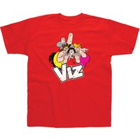 Viz Group Red T-Shirt - XX Large
