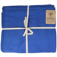 Hand Woven Yoga Blanket - Natural