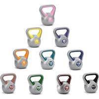 York 2kg to 20kg Vinyl Kettlebell Set