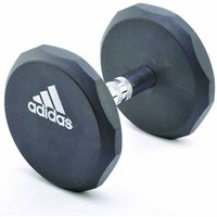 Image of Adidas 20kg Rubber Dumbbell