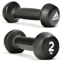 Adidas 2 X 2kg Neoprene Dumbbells