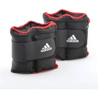 Image of Adidas Adjustable Ankle Wrist Weights - 2 x 1kg