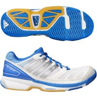 adidas BT Feather Mens Court Shoes - Blue/White, 6 UK