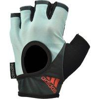 Adidas Half Finger Ladies Fitness Gloves - Mint, L