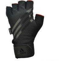 Adidas Half Finger Weightlifting Gloves - Black, S