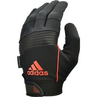 adidas Performance Full Finger Gloves - Black/Orange, XL