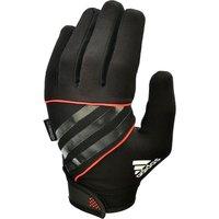 adidas Performance Full Finger Gloves - Black/Orange/White, XL