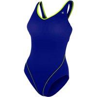 Aqua Sphere Chloe Ladies Swimsuit - Navy/Green, 38