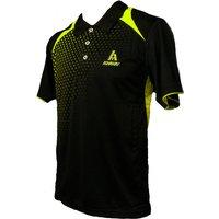 Ashaway ADF 621 Mens Polo - Black/Lime, L