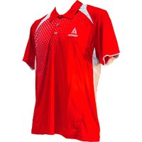 Ashaway Adf 621 Mens Polo - Red/white, L