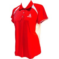 Ashaway Adl 621 Ladies Polo - Red/white, L