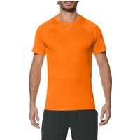 Asics Athlete Cooling Mens Tennis T-Shirt - Orange, XL