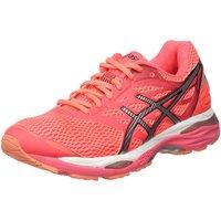 Asics Gel-Cumulus 18 Ladies Running Shoes - Pink/Orange, 5 UK