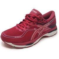 Asics Gel-Cumulus 19 Ladies Running Shoes - Pink/Black, 8 UK