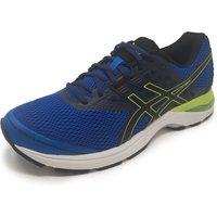 Asics Gel-Pulse 9 Mens Running Shoes - Blue/Black, 10 UK