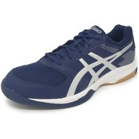Asics Gel-Rocket 8 Mens Indoor Court Shoes - Navy/Silver, 9 UK