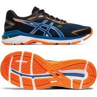 Asics GT-2000 7 Mens Running Shoes - Black/Blue, 7.5 UK