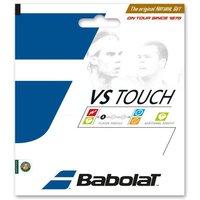 Babolat Vs Touch Natural Gut 1.30mm Tennis String Set - Black, 1.30mm