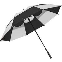 Bagboy 62 Inch Wind Vent Umbrella - Black/white