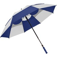 Bagboy 62 Inch Wind Vent Umbrella - Navy/white