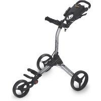 Bagboy Compact 3 Golf Trolley - Silver/black