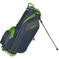 'Bagboy Go Lite Hybrid Cart And Golf Stand Bag - Navy/lime