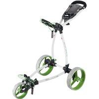 Big Max Blade Plus Golf Trolley - White/Lime