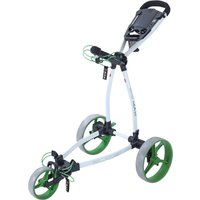 Big Max Blade Plus Golf Trolley - White/Lime