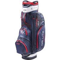 Big Max Dri Lite Sport Golf Cart Bag - Navy/Red