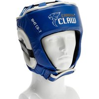 Image of Carbon Claw AMT CX-7 Blue Leather Headguard - M