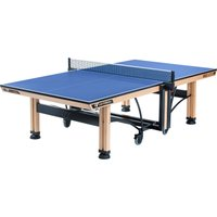 Cornilleau ITTF Competition Wood 850 Rollaway Table Tennis Table - Blue
