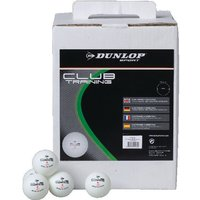 'Dunlop Club Training Table Tennis Balls - 12 Dozen