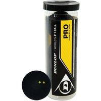 Dunlop Pro Squash Balls 3 Ball Tube