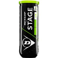 'Dunlop Stage 1 Green Mini Tennis Balls - Tube Of 3 2019